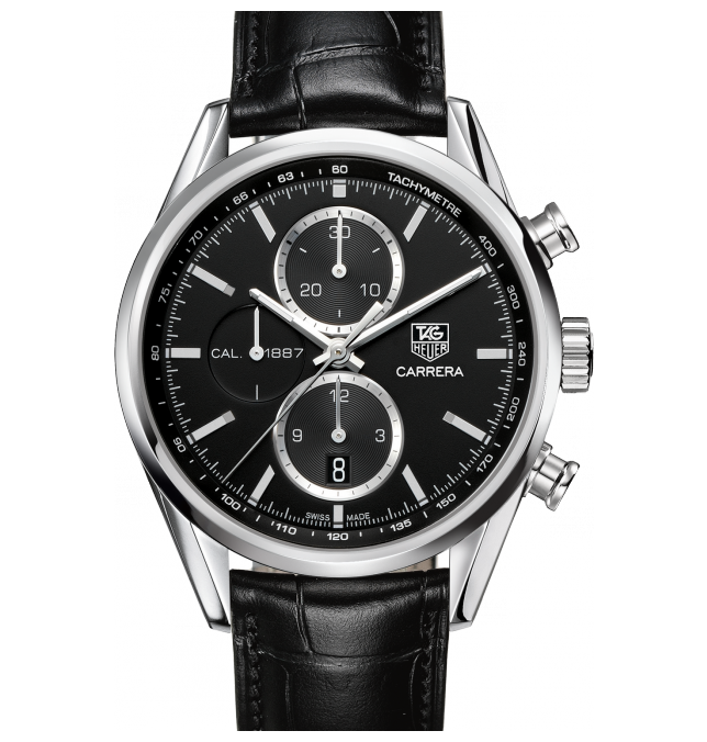 how striking the Tag Heuer Carrera Chronograph replica is