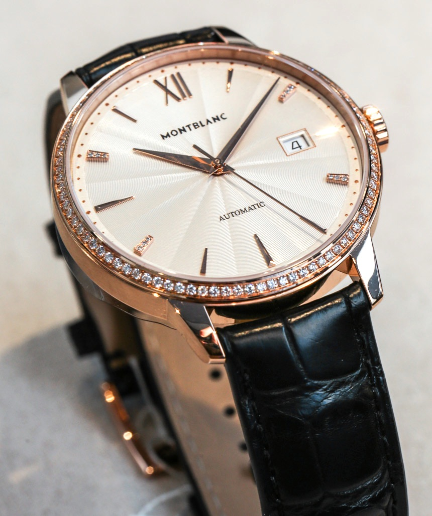 Reviewing The Luxury Replica Montblanc Meisterstuck Heritage Spirit Date Automatic Watch