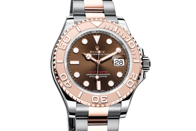 A good replica Rolex Oyster Perpetual Yacht-Master well-made in Everose gold