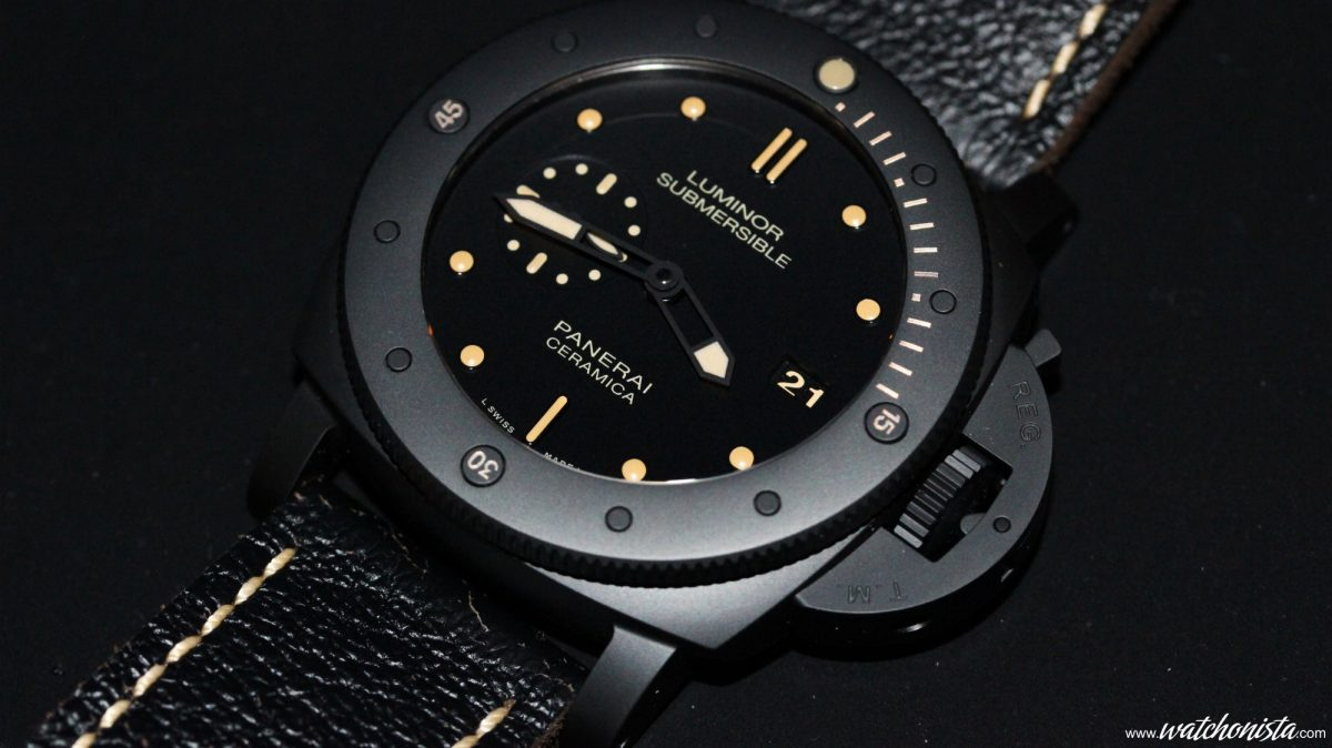 you sould be known well about the Panerai Luminor Submersible1950 replica