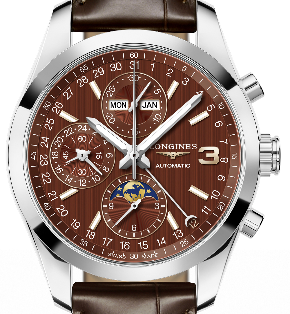 Introducing The Replica Longines Conquest Classic Triple Crown Limited Edition Watch
