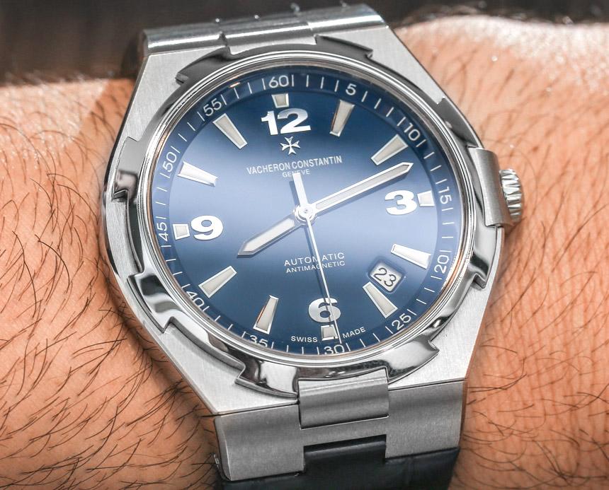 Vacheron Constantin Overseas Watch In Blue Hands-On Hands-On