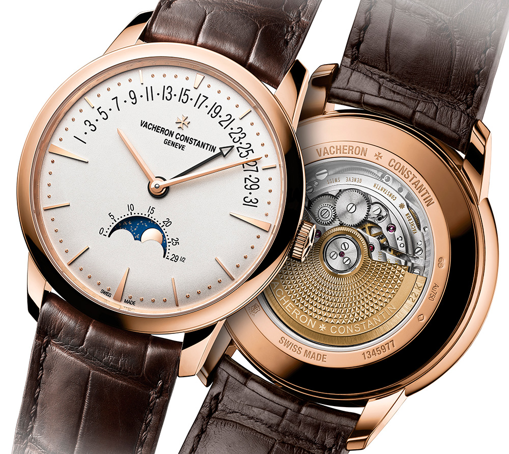 Vacheron Constantin Patrimony Moon Phase Retrograde Date Watch Watch Releases