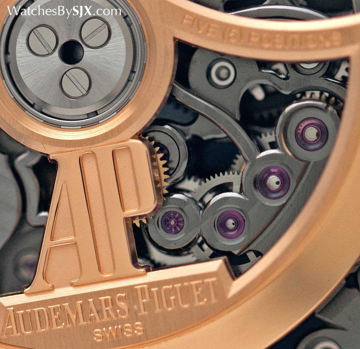 Audemars Piguet Millenary 4101 Openworked 7