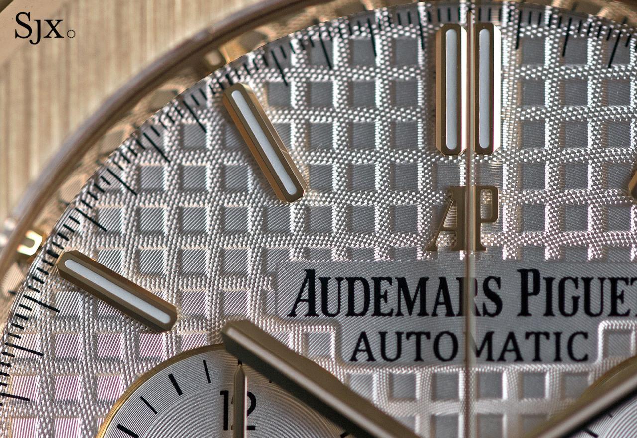Audemars Piguet Royal Oak Chronograph 41 mm yellow gold 11