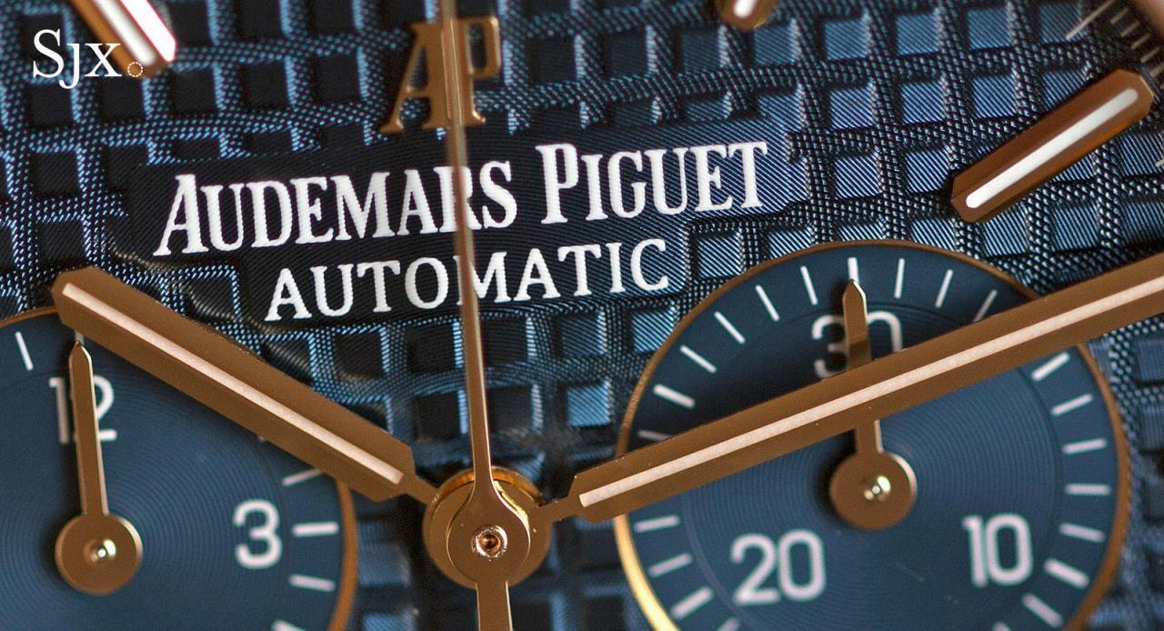 Audemars Piguet Royal Oak Chronograph 41 mm yellow gold 7