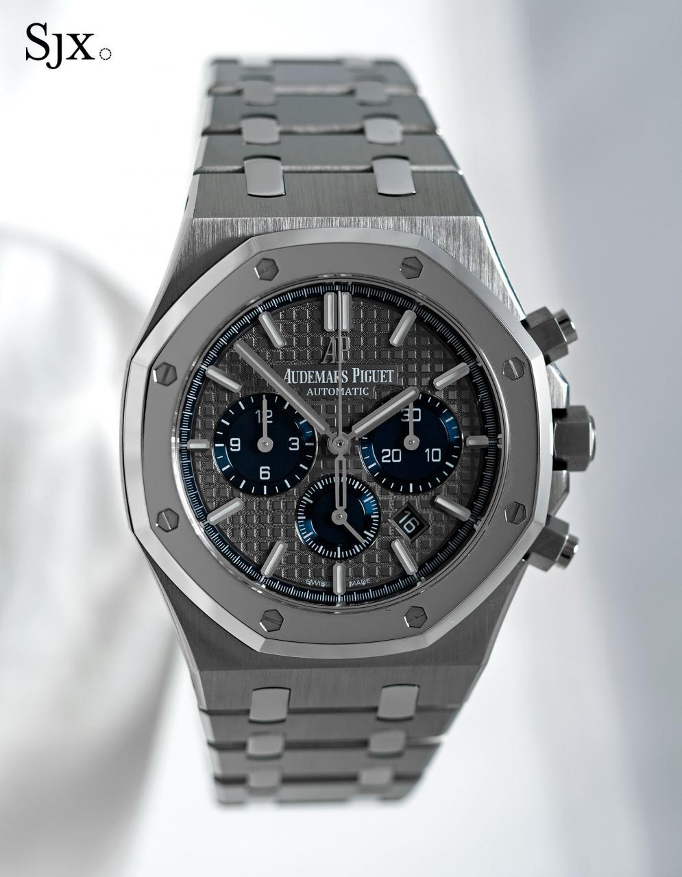 Audemars Piguet Royal Oak Chronograph Titanium Platinum 1