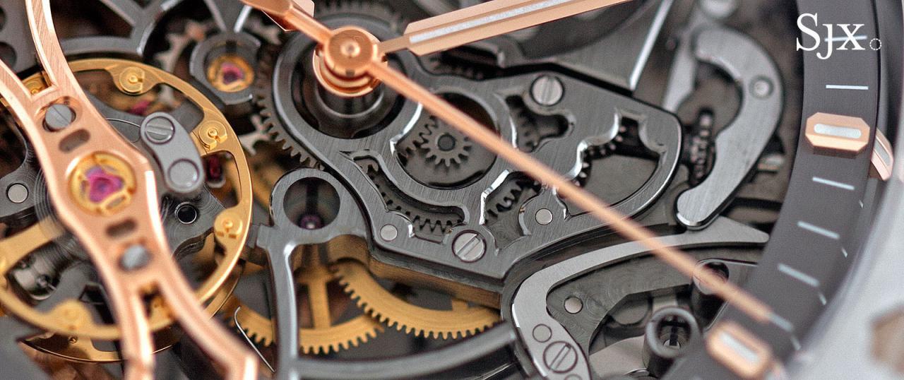 Audemars Piguet Royal Oak Double Balance Wheel Openworked Steel 3