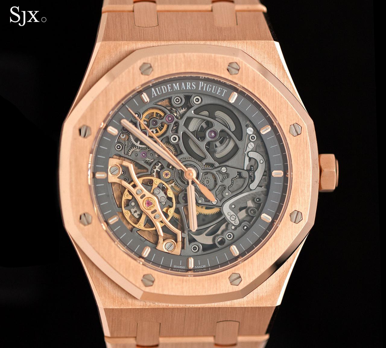 Audemars Piguet Royal Oak Double Balance Wheel Openworked pink gold 2