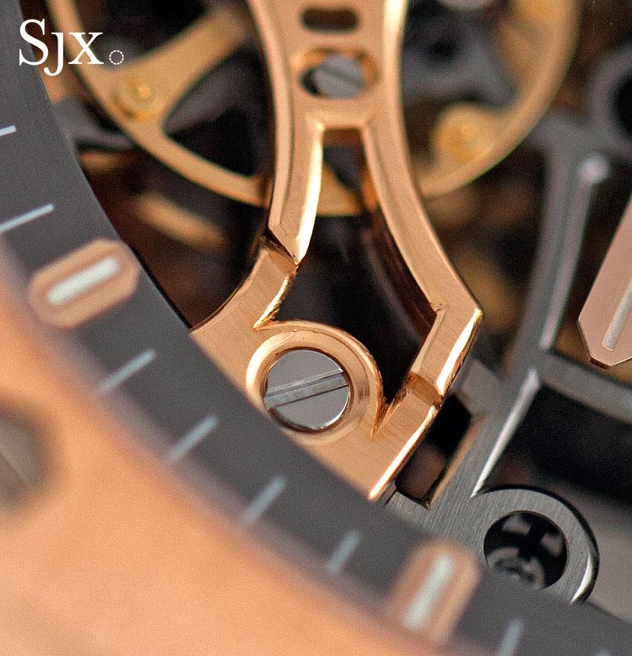 Audemars Piguet Royal Oak Double Balance Wheel Openworked pink gold 5