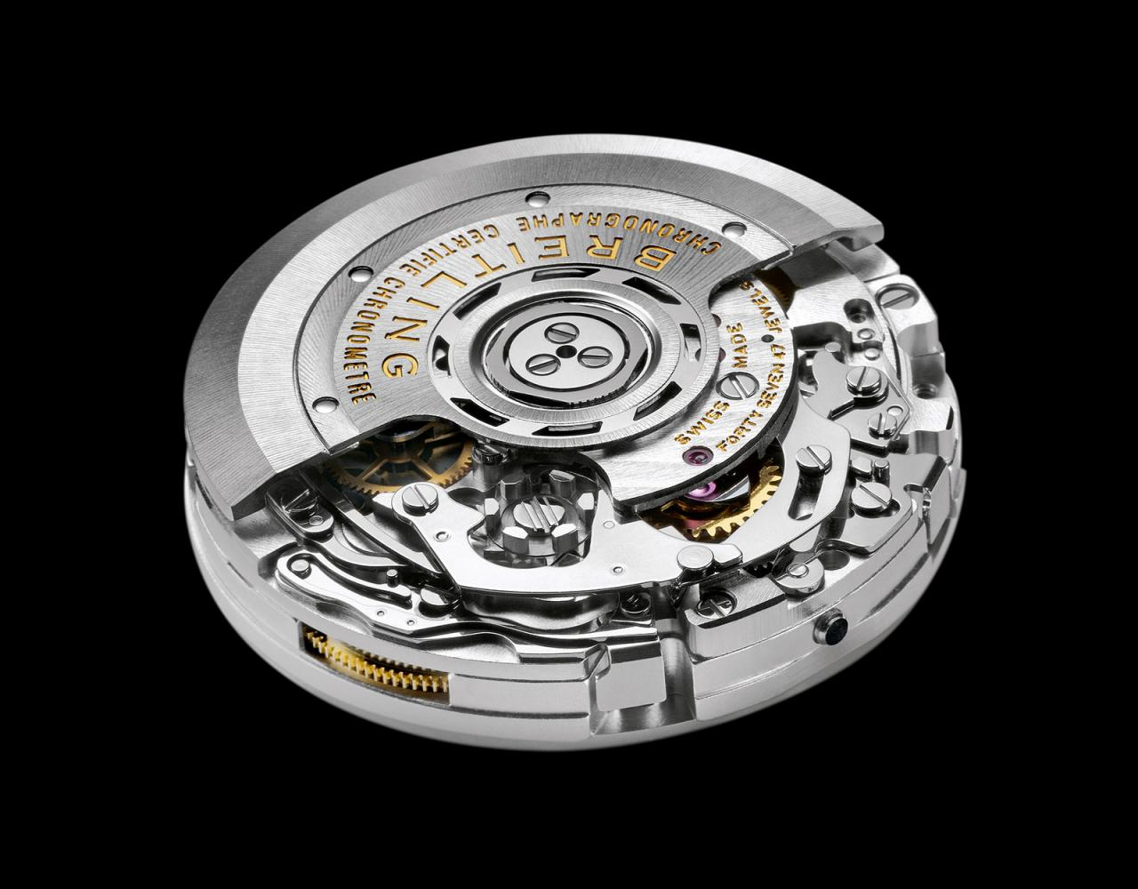 Breitling 01 B01 chronograph movement