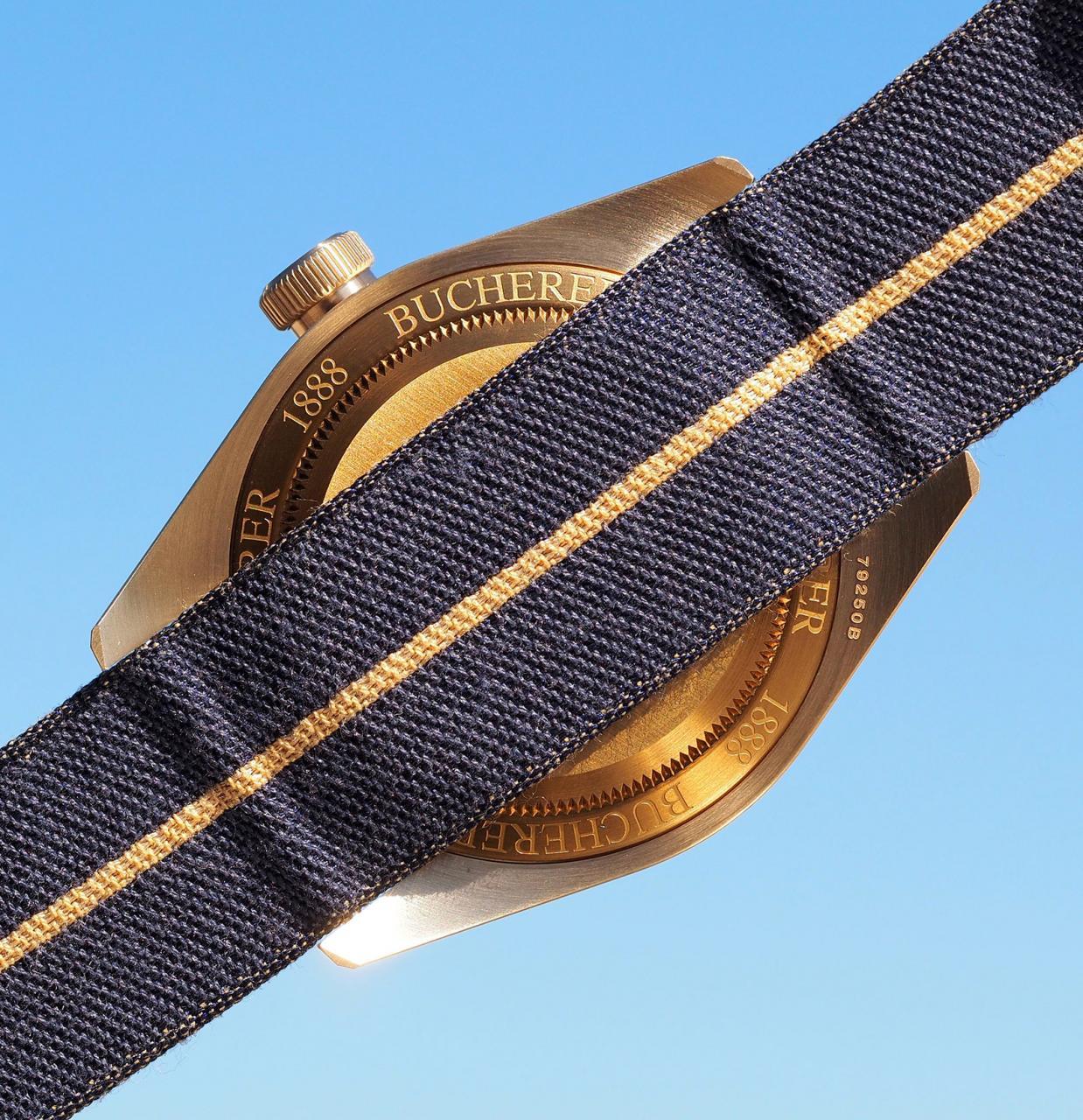 Tudor Black Bay Bronze Blue Bucherer 6