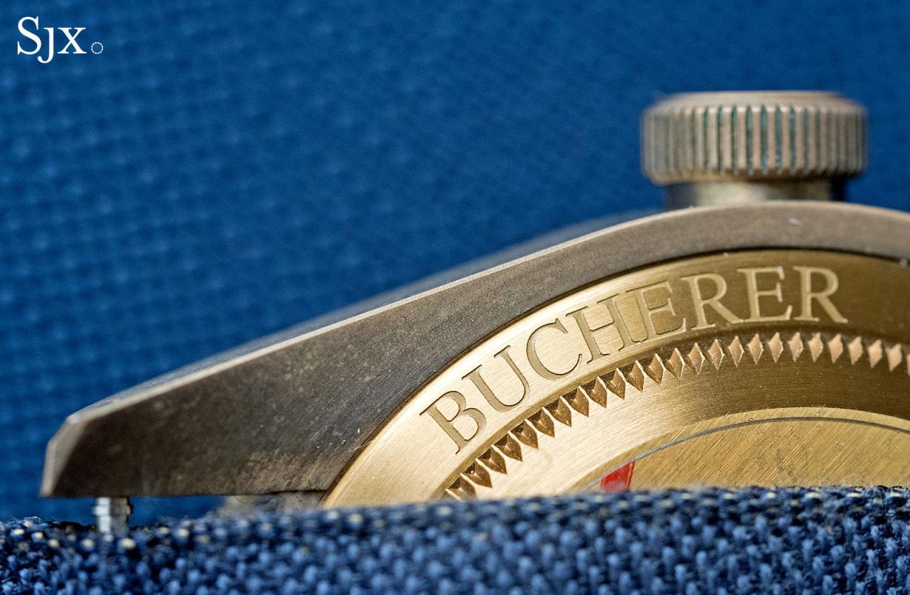 Tudor Black Bay Bronze Bucherer Blue 10
