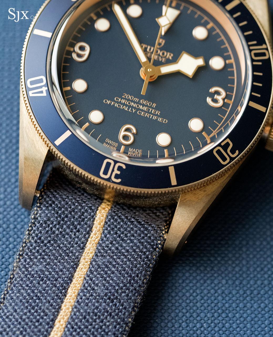 Tudor Black Bay Bronze Bucherer Blue 12