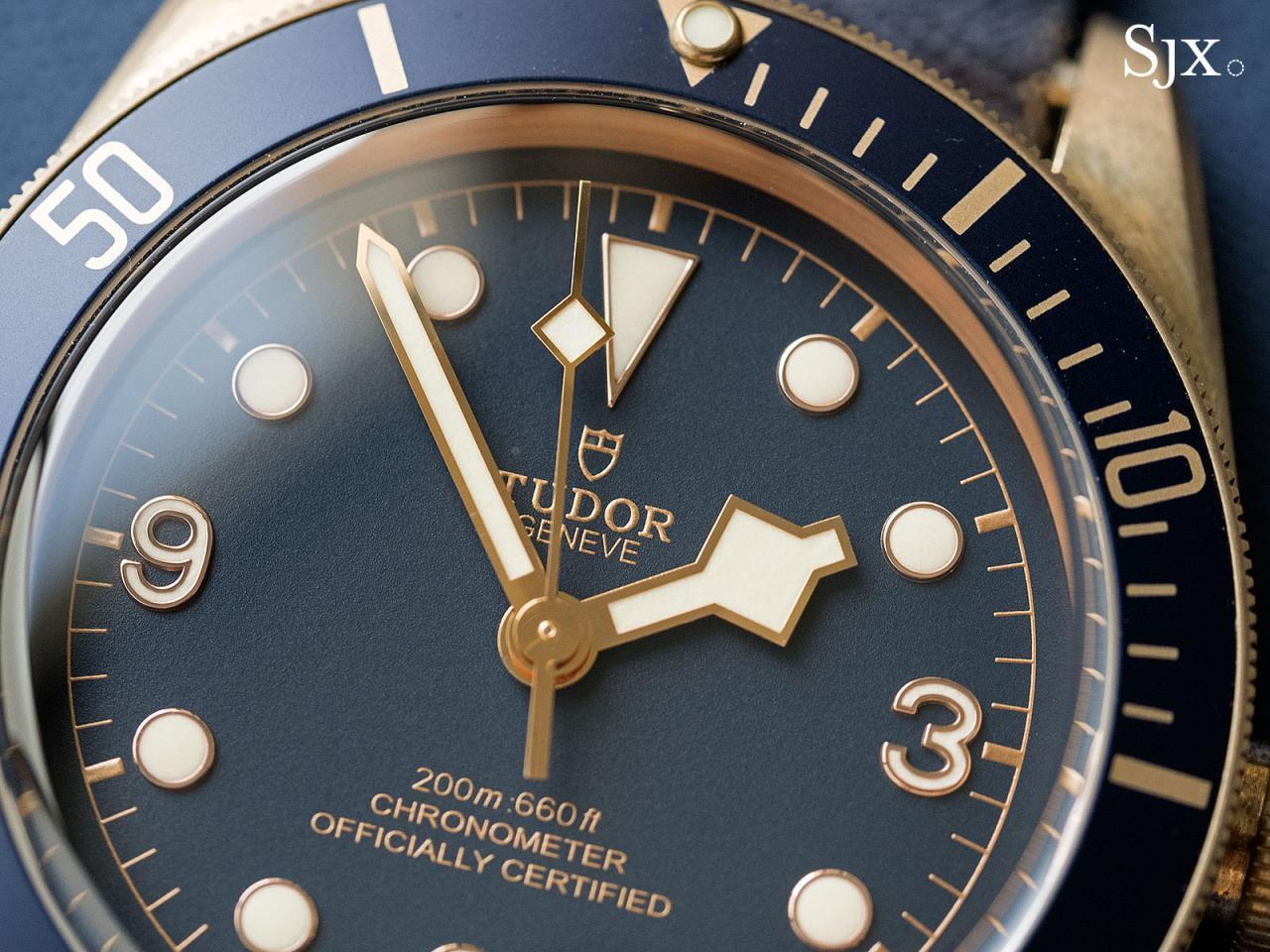 Tudor Black Bay Bronze Bucherer Blue 13