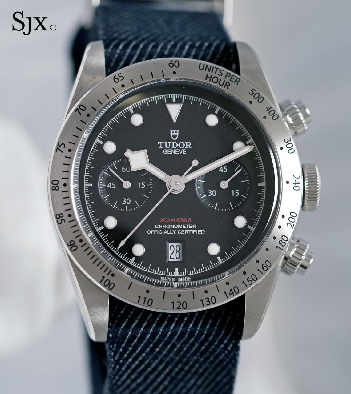 Tudor Black Bay Chrono 79350-16