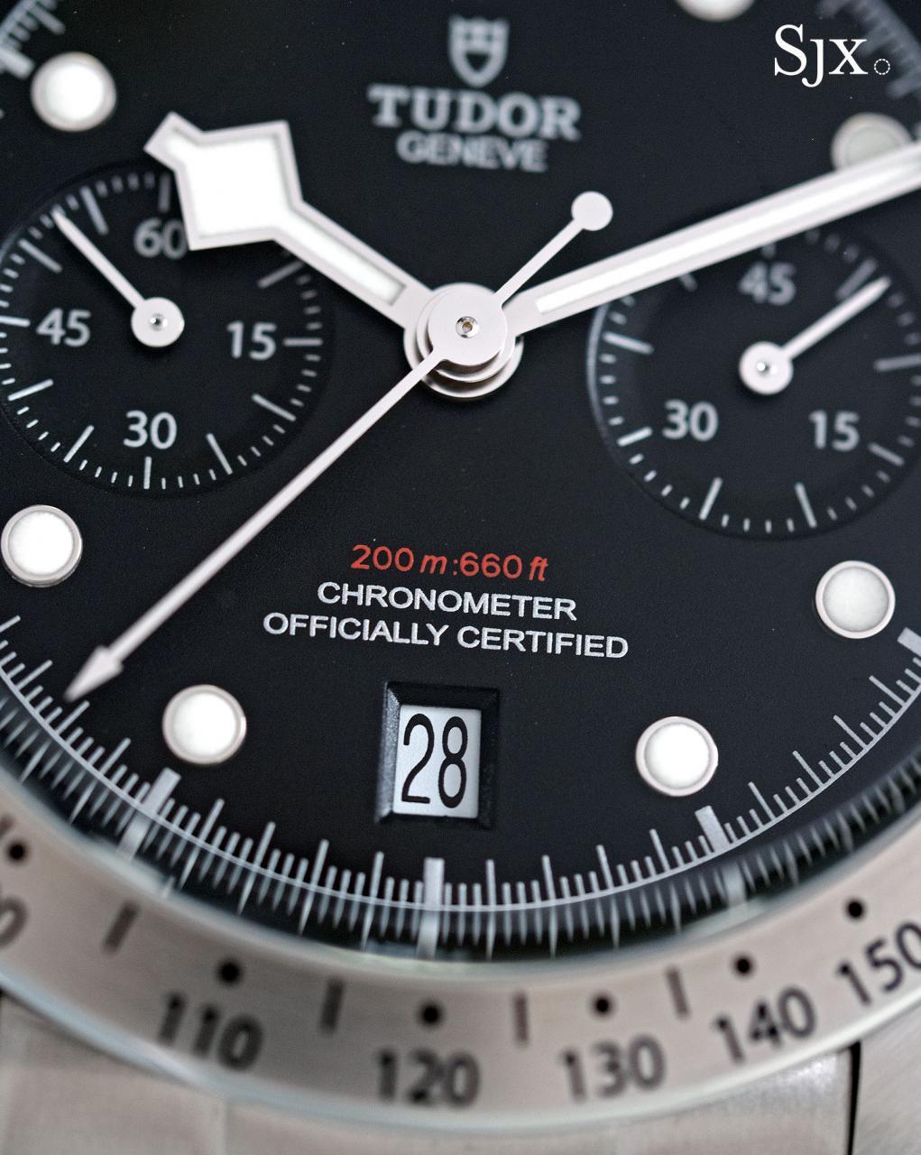 Tudor Black Bay Chrono 79350-3