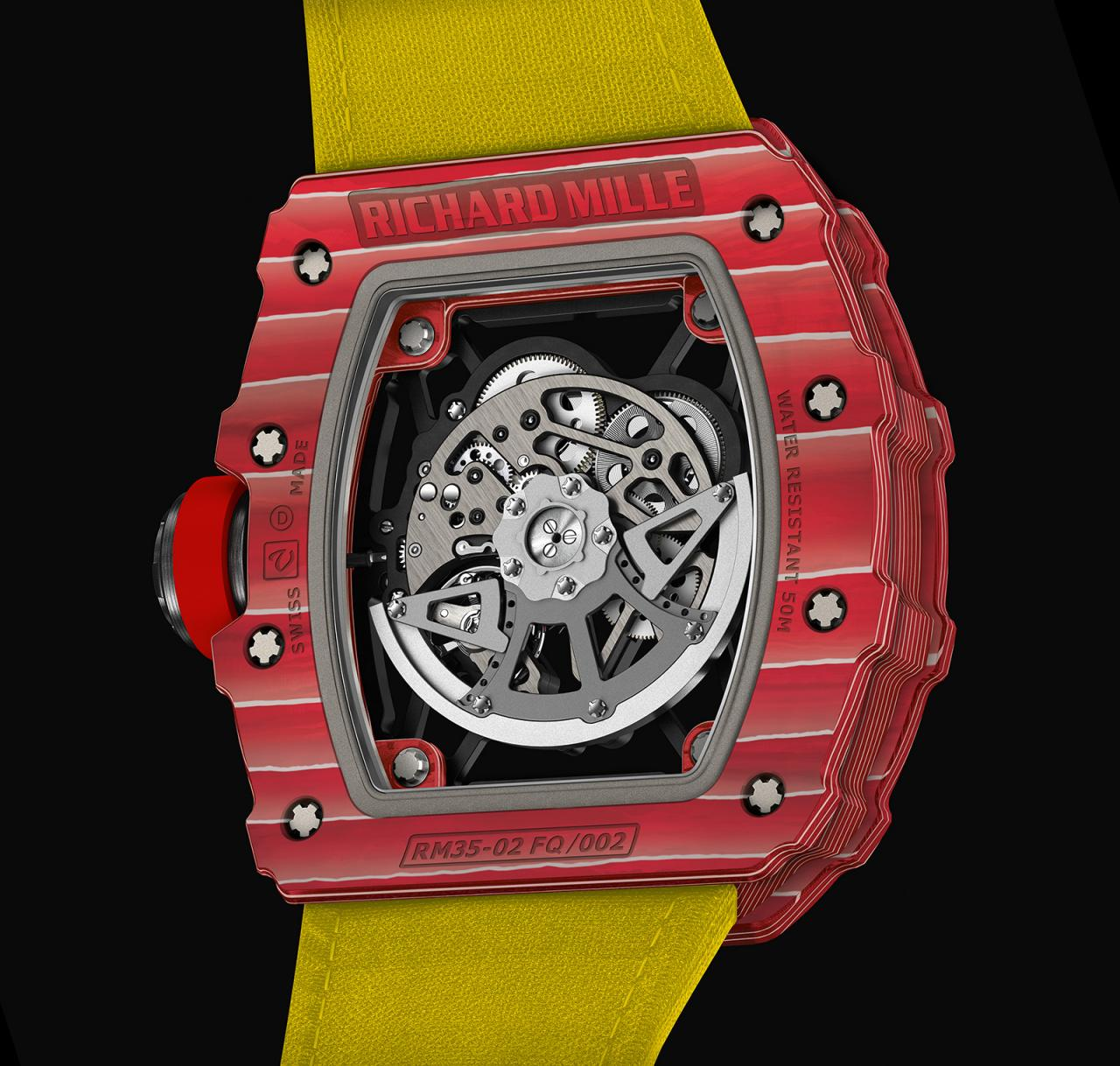 Richard Mille RM 35-02 Rafael Nadal Red Quartz TPT 2
