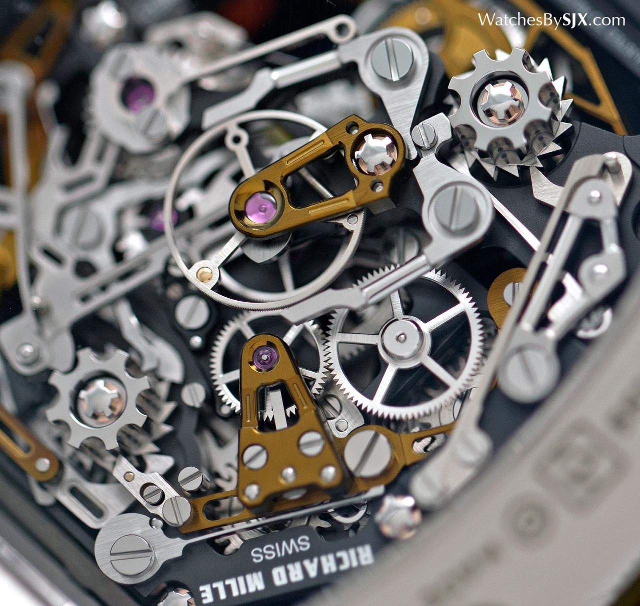 Richard Mille RM 50-02 ACJ Tourbillon Split Seconds Chronograph 5