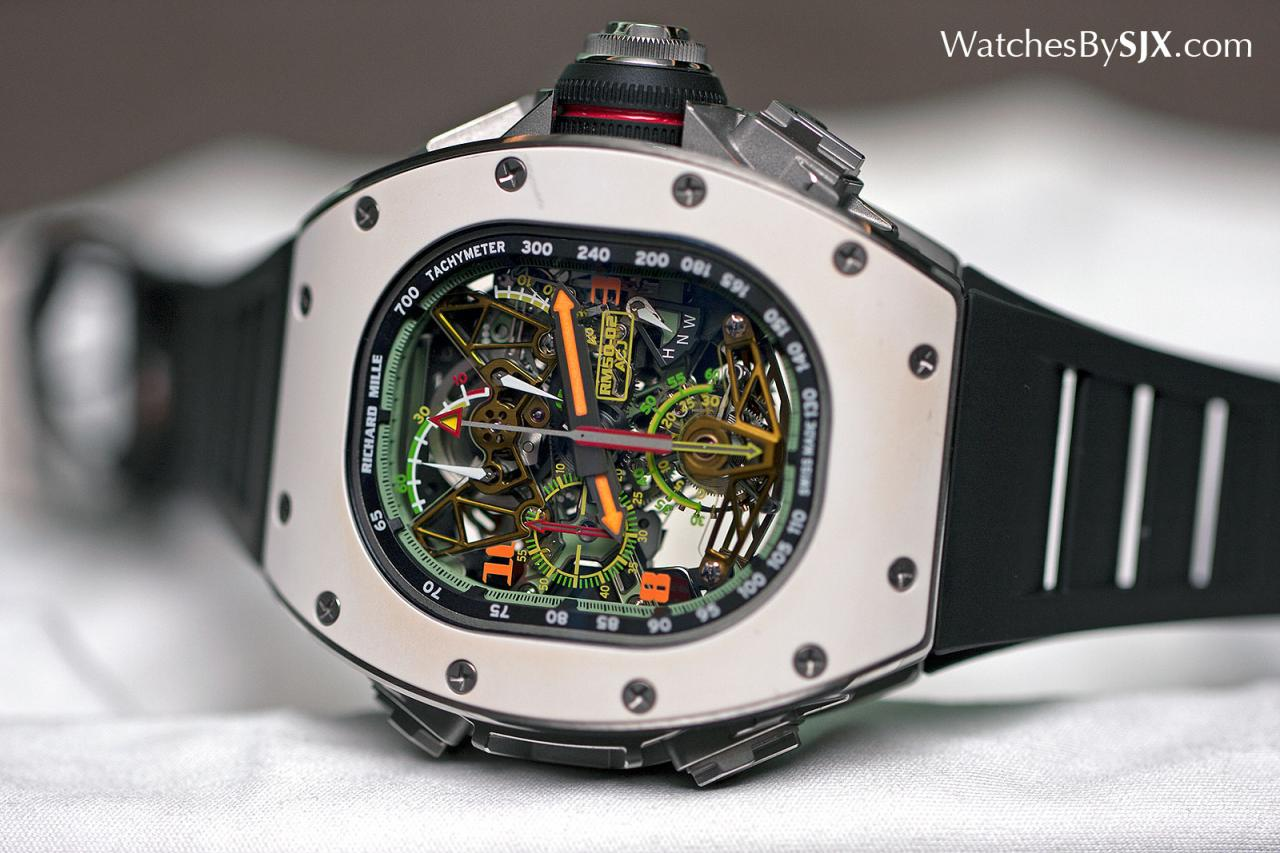 Richard Mille RM 50-02 ACJ Tourbillon Split Seconds Chronograph 6