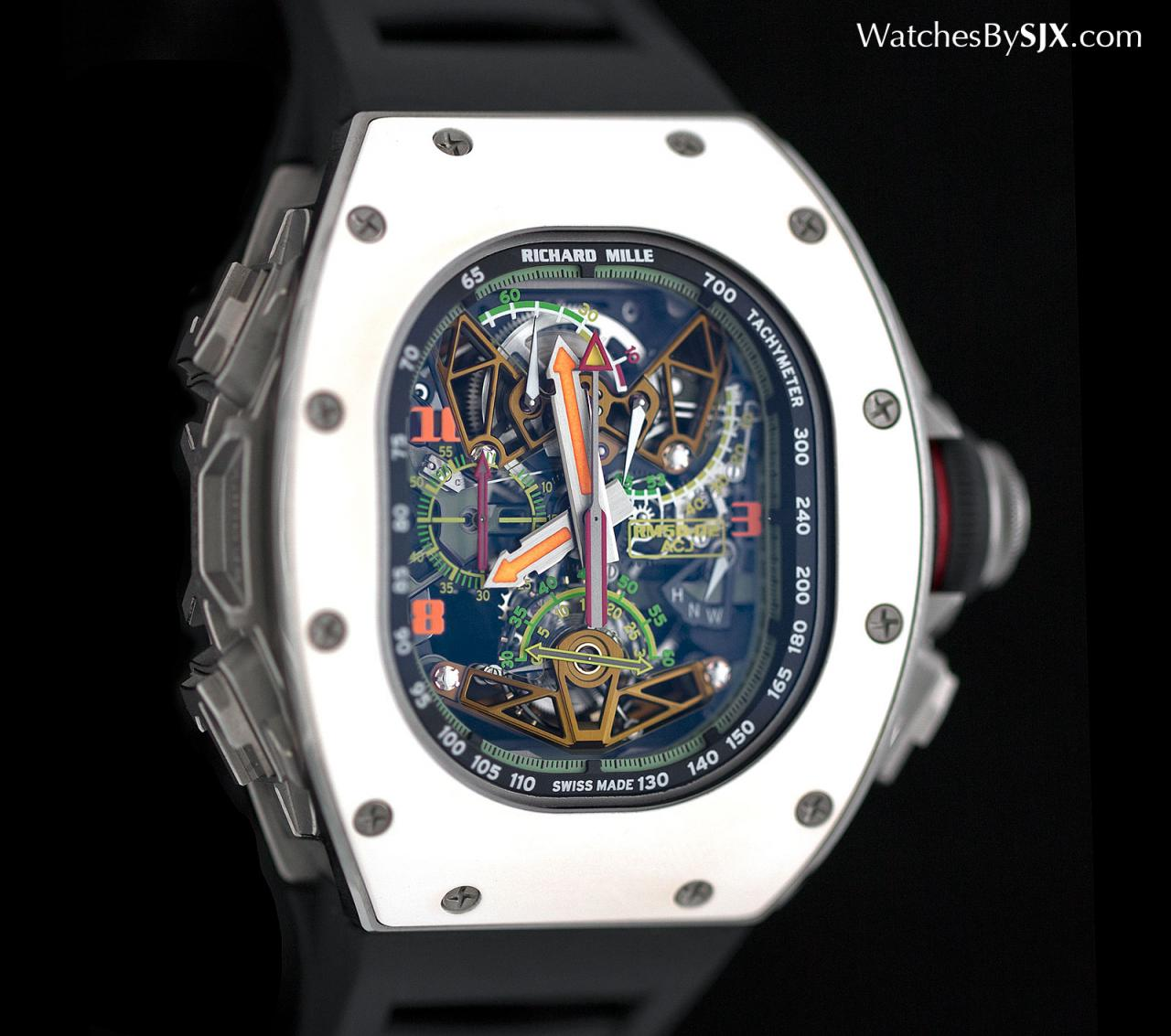 Richard Mille RM 50-02 ACJ Tourbillon Split Seconds Chronograph 8