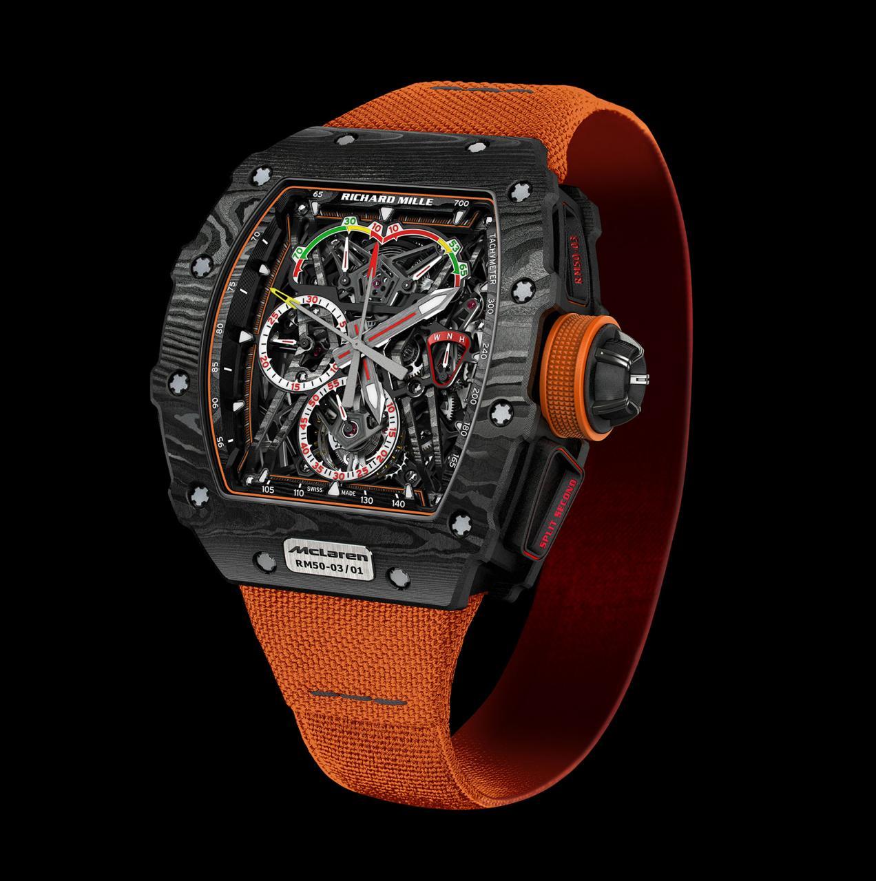 Richard Mille RM 50-03 McLaren F1 orange