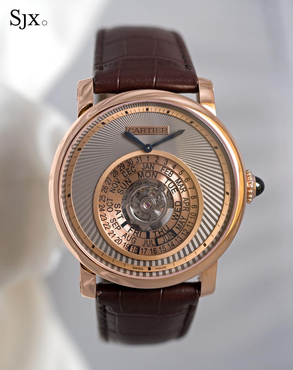 Cartier Astrocalendar pink gold 1
