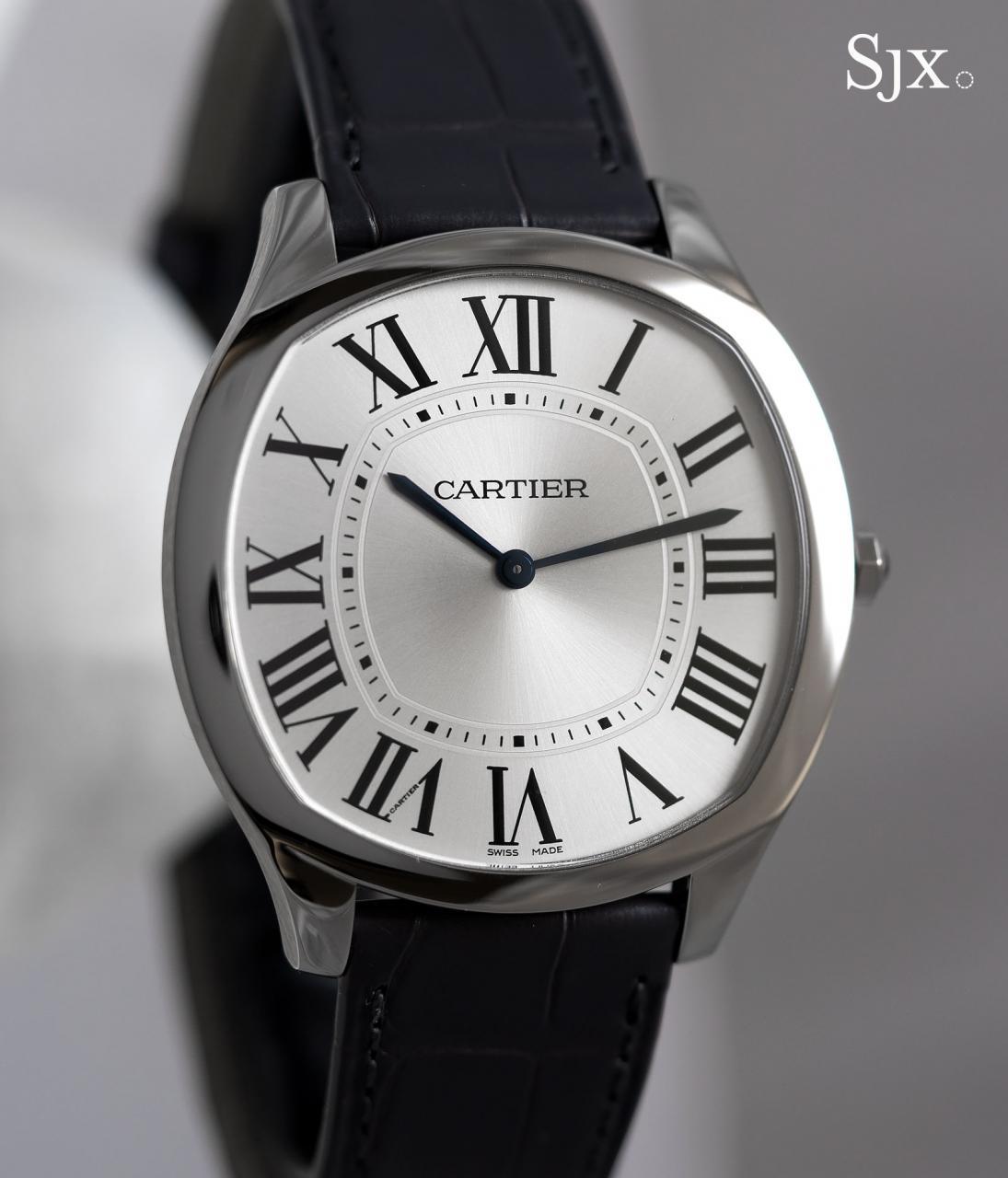 Cartier Drive de Cartier Extra flat white gold 1