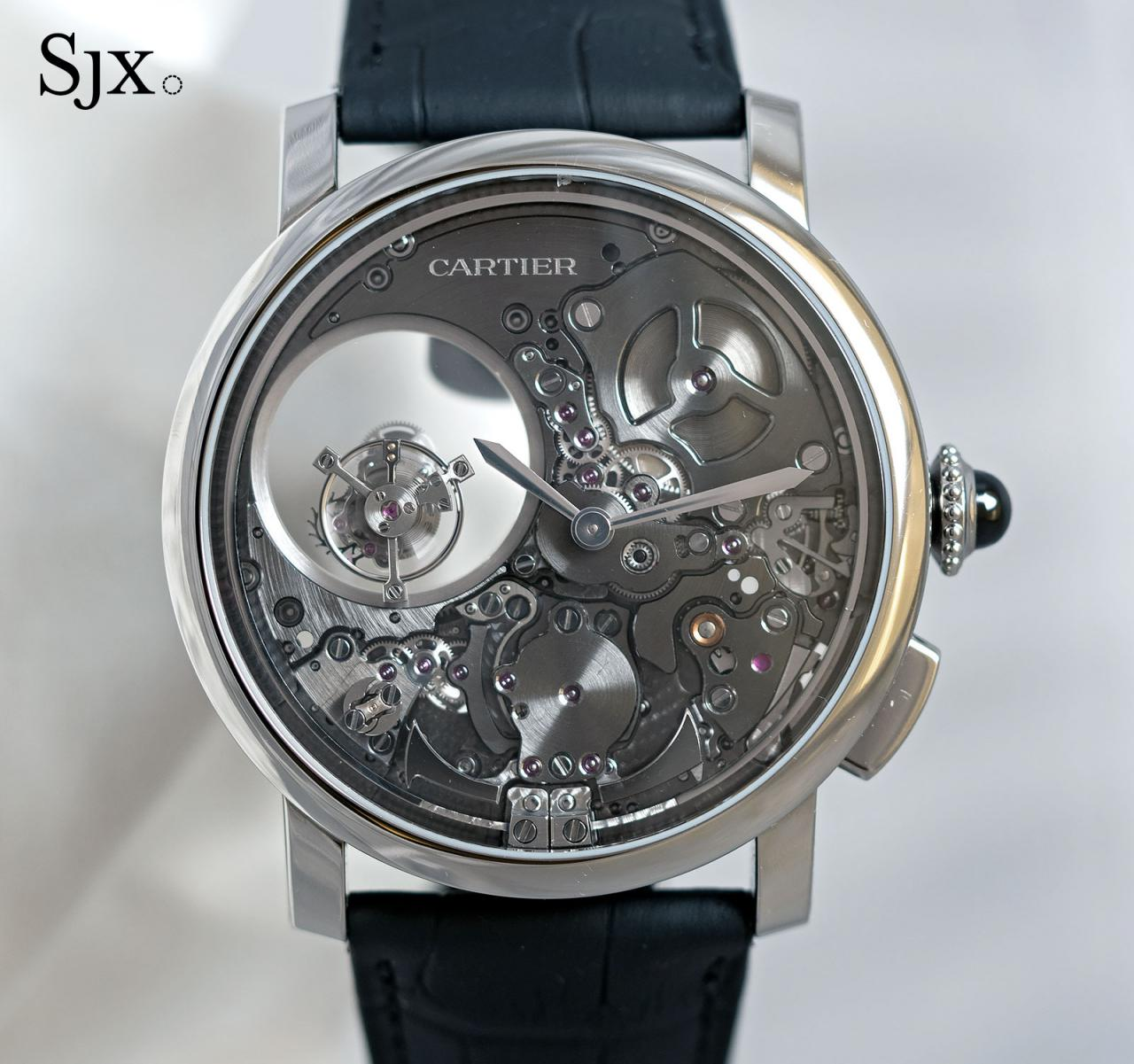 Cartier Rotonde Repeater Mysterious Double Tourbillon 1