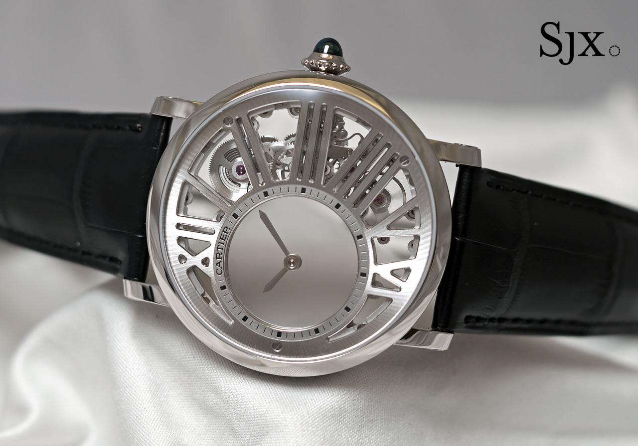Cartier Rotonde de Cartier Skeleton Mysterious Hour 1
