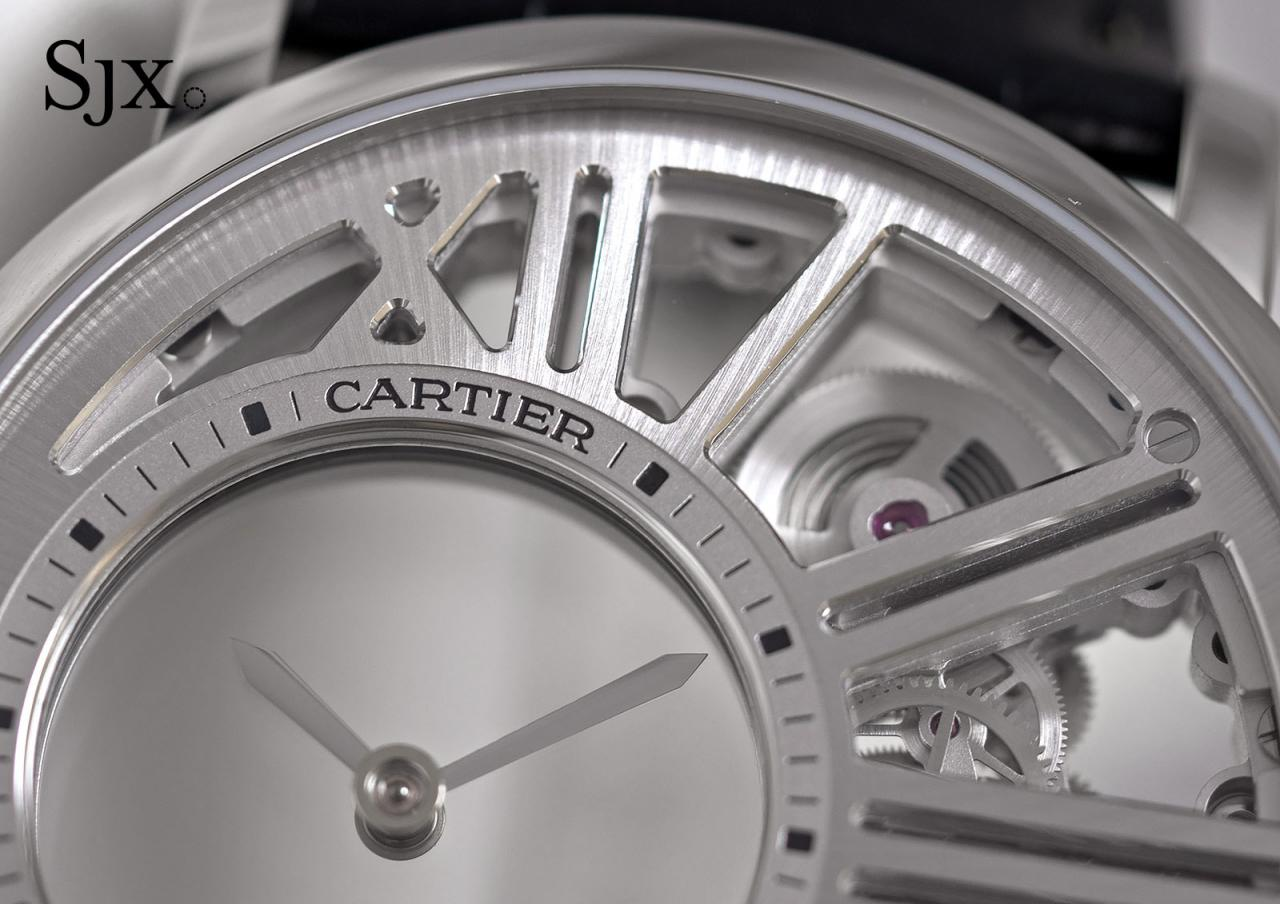 Cartier Rotonde de Cartier Skeleton Mysterious Hour 3