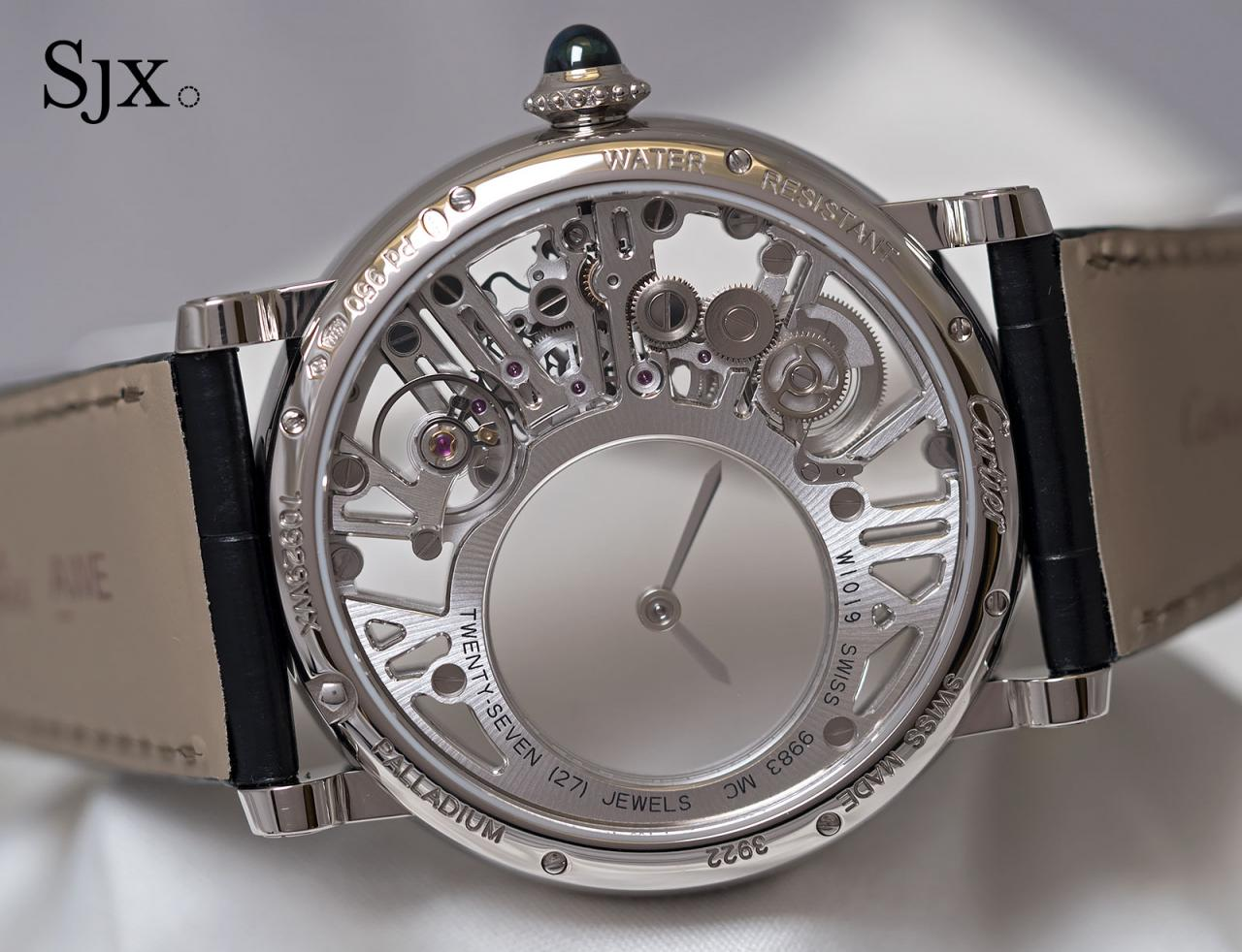 Cartier Rotonde de Cartier Skeleton Mysterious Hour 4