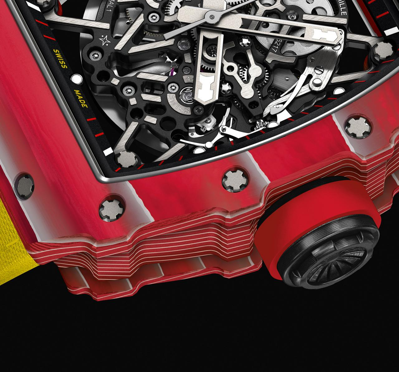 Richard Mille RM 35-02 Rafael Nadal Red Quartz TPT 3