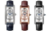 Cartier Tank Cintree skeleton gold and diamonds
