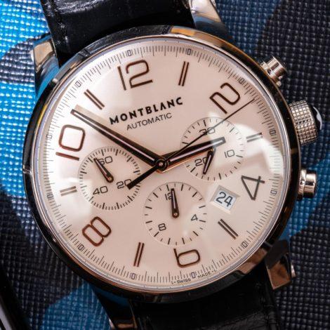 万宝龙时光行者计时码表101549 Relica手表不再制造